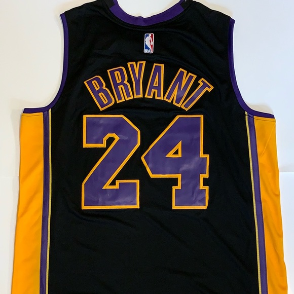 best website 11ad6 ef9a8 Kobe Bryant Lakers Hollywood Nights Jersey #24